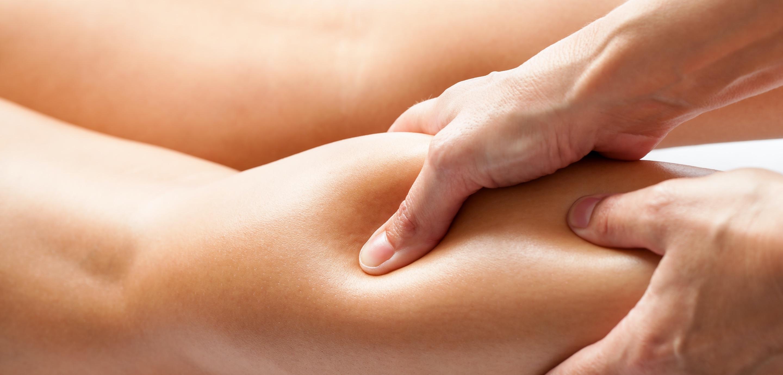 Manuelle Lymphdrainage: Sanfte Bewegungen für besseren Abfluss der angestauten Lymphflüssigkeit