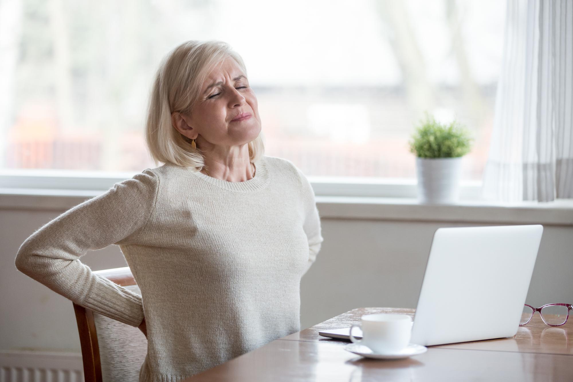 Rückenschmerzen und Viscerale Therapie